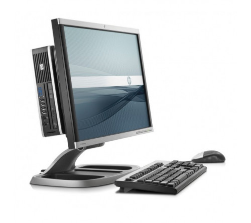 "COMPUTADOR HP 8200 USDT INTEL I5-2400S 2.50 GHZ, 4GB 250GB DVDRW + All-IN-ONE: SUPORTE + MONITOR HP.22"".""GRAU A"""