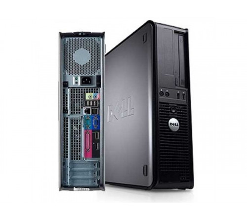 "COMPUTADOR DELL OPTIPLEX 380 SFF INTEL E7500 2.93Ghz, 4GB 250GB DVDRW  ""GRAU A"""
